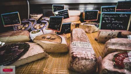 Fromages de la boucherie Thierry