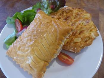 Feuilleté saumon oseille ou reblochon