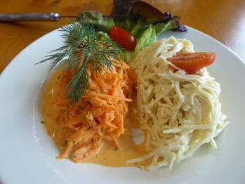 Salade de carotte ou céleri