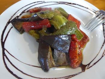 Légumes à la provençale confits